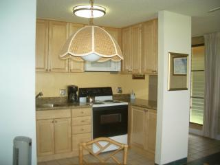 New Kitchen with granite counters, completely furnished, including spices in the cupboard!