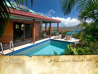 Mooncottage: St. John's Most Romantic Luxury Villa, Coral Bay