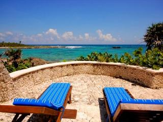 5 BR 4 BA Caribbean view at Yal Ku Lagoon! Snorkeling, Pool, Wifi, AC