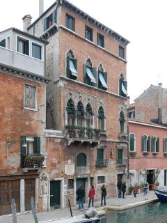The building once lived in by Tintoretto