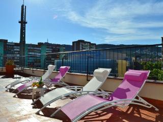 Ferran Batik, amazing 3 BR penthouse in Pedralbes