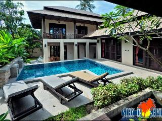 4 bed private villa in luxury Kirikayan resort, Maenam sleeps 9, Mae Nam