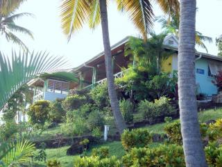 Pelican House-Charming Villa with Spectacular view, aluguéis de temporada em Marigot Bay