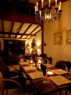 Bella Retreat Nightime Dining