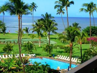 Maui Sunset #A-407 1Bd/2Ba, Oceanfront Complex, Wifi, Great Rates! Sleeps 4