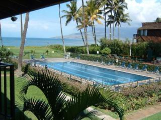 Waiohuli Beach Hale #D-221 Oceanfront Ocean View 1 Bd 1 Ba  Great Rates!!