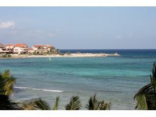 Breathtaking Views from terrace- sailboats during day and at night you can see Cozumel!