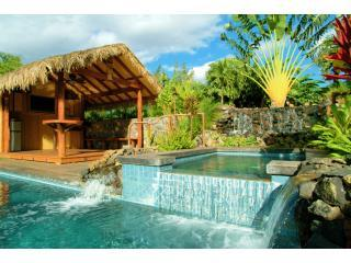 Pool, Spa, Waterfall, and Cabana