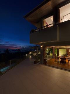 Main Terrace at Night