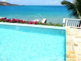 Quiet, casual, secluded Caribbean villa nestled on its own snorkeling beach. VG SER, Virgin Gorda