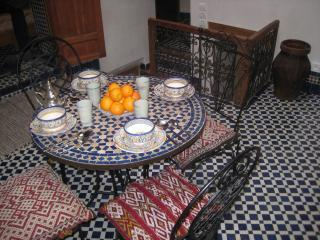 Dar Jameel. Pretty traditional house in the Medina, Fes