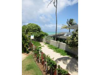 Beach path - public beach access to right of the house.
