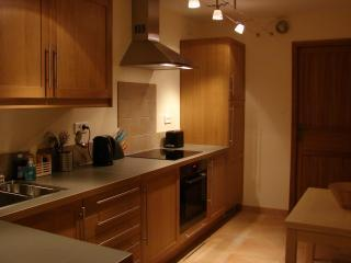 Fitted kitchen in apartment Renoir