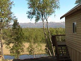 """Alaska Creekside Cabins"" Luxury waterfront suites, Wasilla"