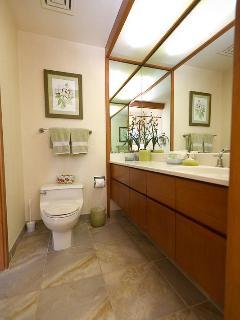 Guest bedroom remodeled bath
