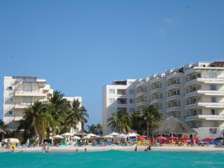 Ixchel Condos --My unit is on the left building--4th floor --right on the beach