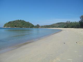The north end of Bang Tao beach