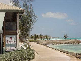 The Boardwalk looking towards Accra Beach