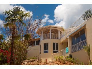 St. John, USVI,  Blue Agave Villa, 4 bedroom, UNDAMAGED by Irma, sea view, pool!