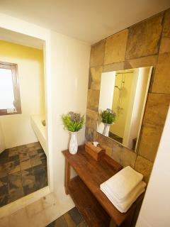 bathroom of garden suite