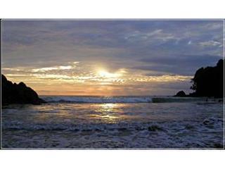 Sunset at the Tulemar Beach