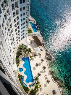 Cozumel Ocean Front condo at  Peninsula Grand