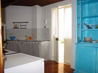 kitchen and rear door