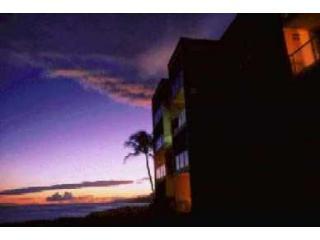 Sunset from Kuhio Shores