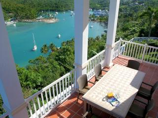 The Great House Overlooking the Entire Marigot Bay