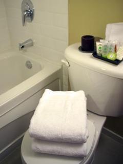 COMFYSUITES: Vancouver Apartment Rentals (Bathroom)