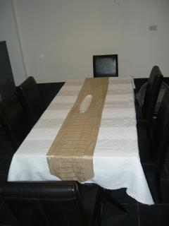 dining table and cjairs