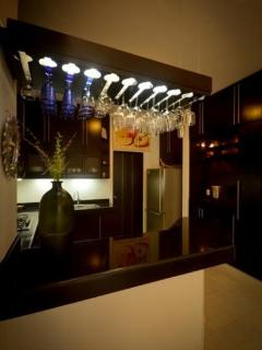 Bar in the kitchen