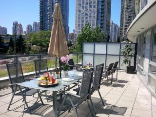 Downtown Luxury Suite w/ Massive Terrace, Vancouver