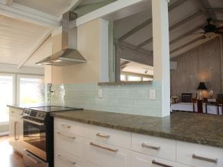 Clean new open kitchen