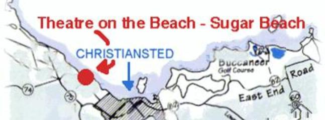 On the beach - close to town - perfect location!