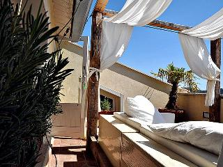 Sunbathing on the terrace