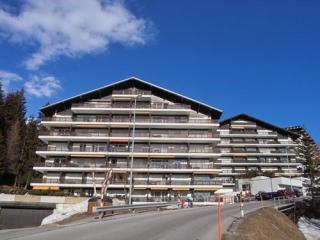 Crans Montana - prime Swiss Alp winter ski resort