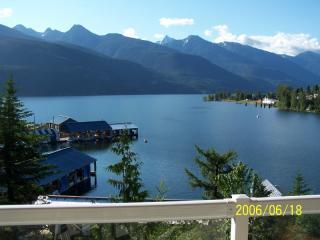 Kaslo Bay with Mt. Loki in the Background.