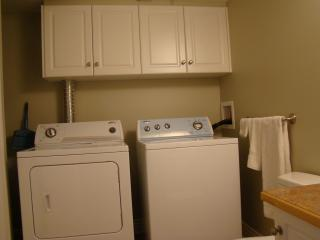 2nd bathroom includes in-suite washer and dryer for your convenience