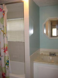 BATH WITH TUB AND SHOWER