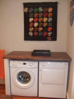 washer& dryer