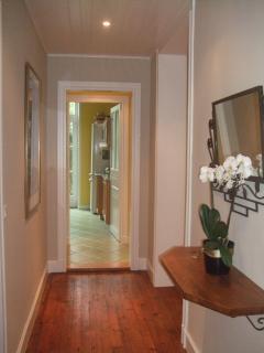 Entry towards Kitchen