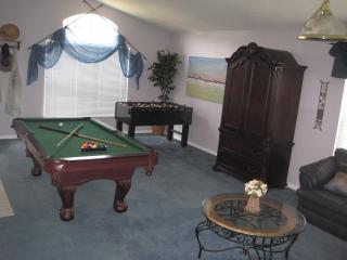 Any one fancy a game of pool or foosball or a quiet read? Lots of space to spread out.