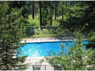 Outdoor Pool with Great Views of Whitefish Lake