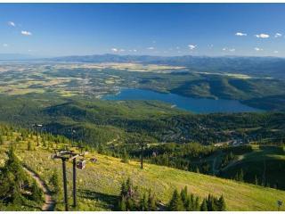 View Whitefish Lake from Big Mountain