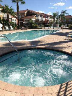 Clubhouse pool and spa
