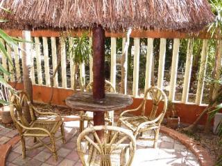 Garden and Palapa of Villa Maya