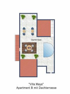 Roof Top Terrace Floor Plan