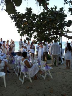 Wedding on SeaHorse Waters Beach
