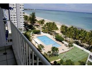 Ocean View Condo: Isla Verde, San Juan Puerto Rico (w/ Electric Power & Water)